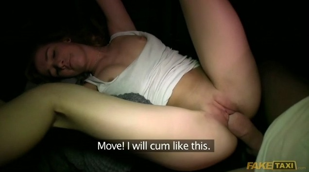 creampie in taxi
