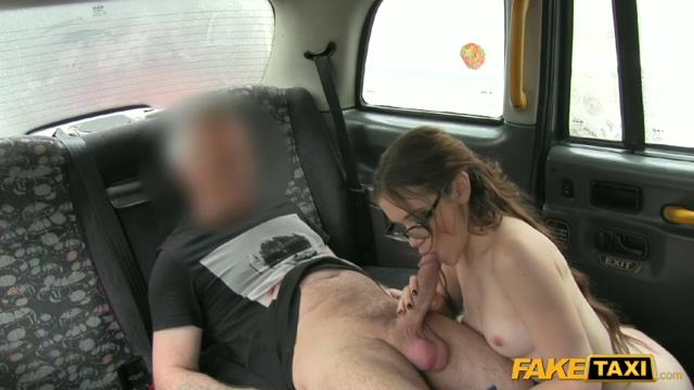 Lucie bee fake taxi