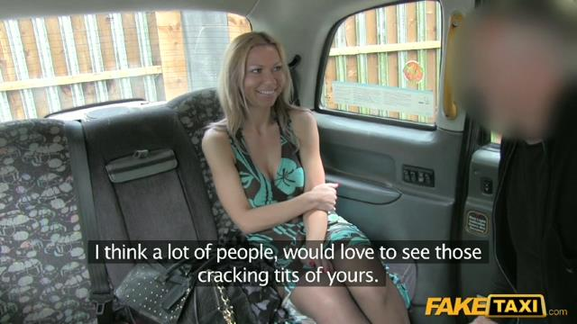 Fake Taxi – Destiny – Your First Ride In London Taxi…