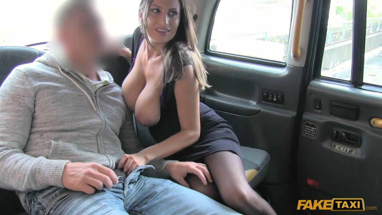 Fake taxi new driver gives local hot blonde good anal sex 8