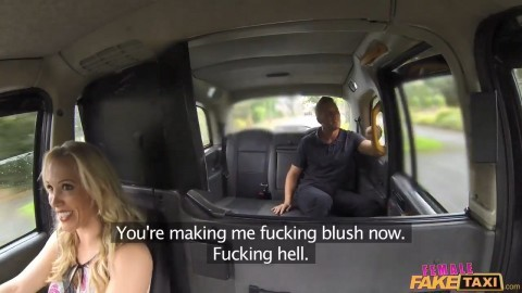 female fake taxi tube