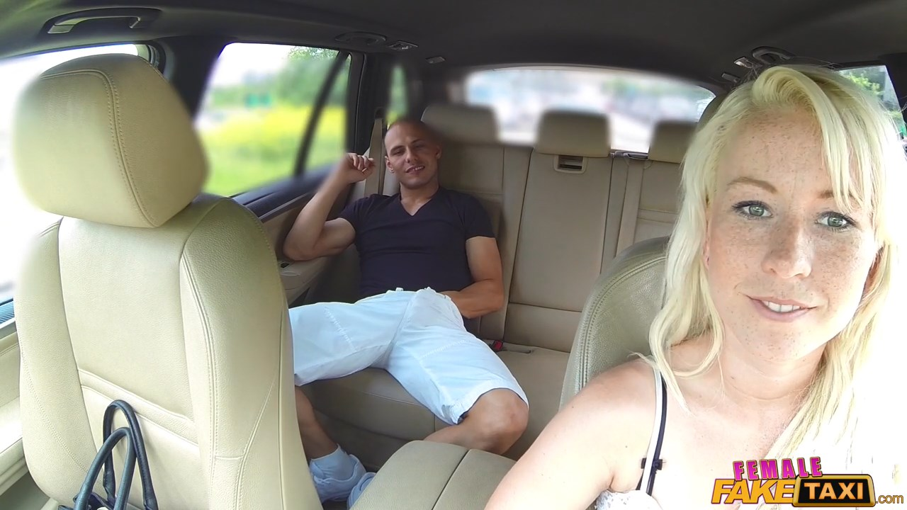 Female Fake Taxi Pussy Licking