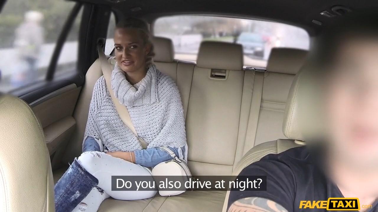 Wife fucks cab drivers helpful