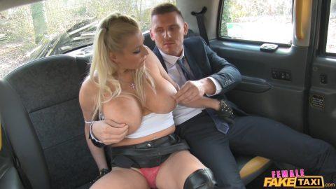 Red Head Big Tits Fake Taxi
