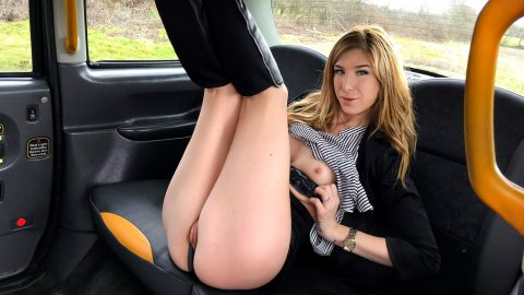 Fake taxi serial squirting from busty blonde amateur 3